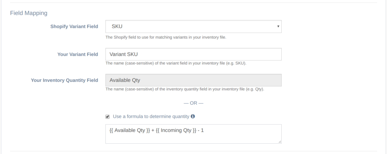 Updating Inventory Quantity in Your Shopify Store Using