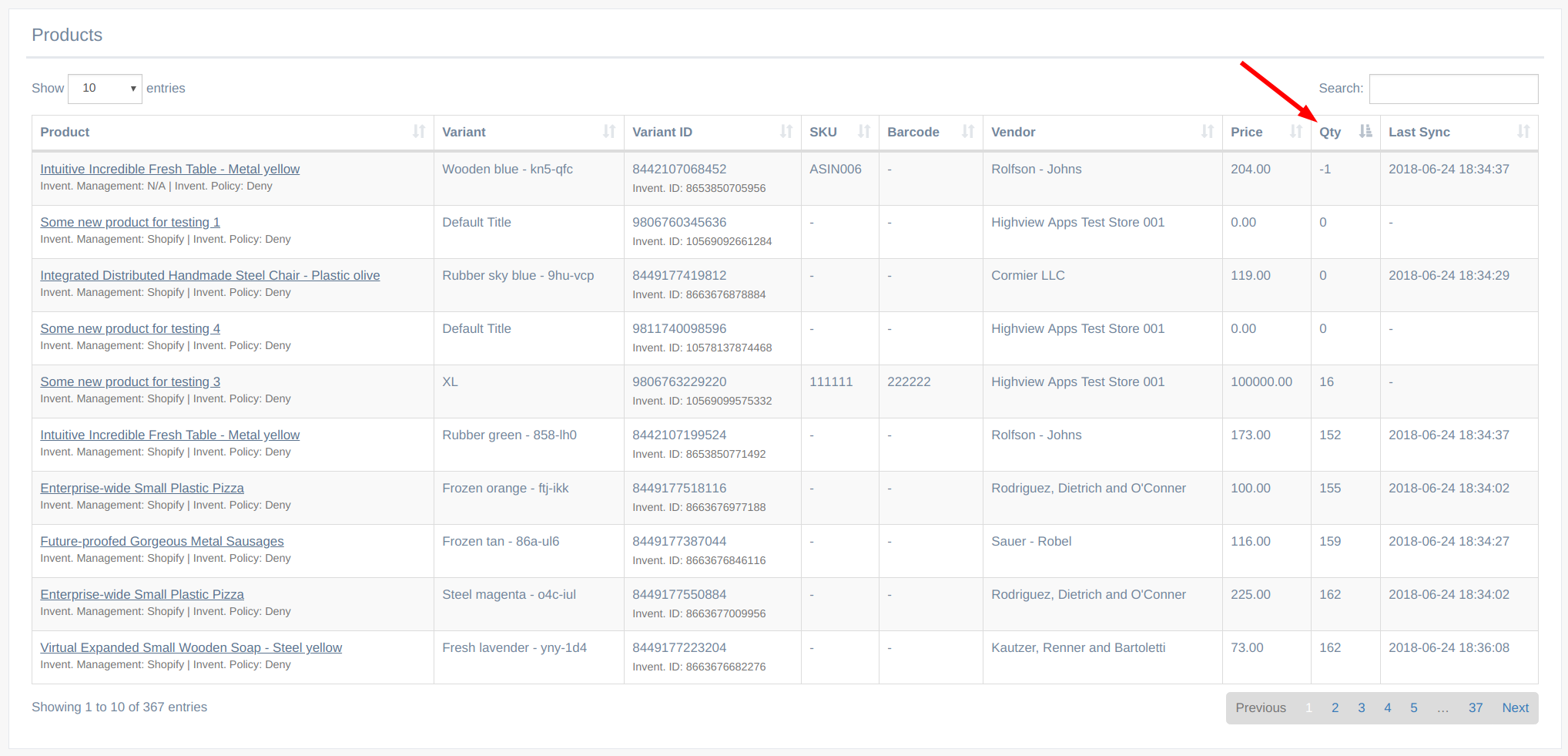 EZ Inventory: Faster Updates of the Product Listing Page with