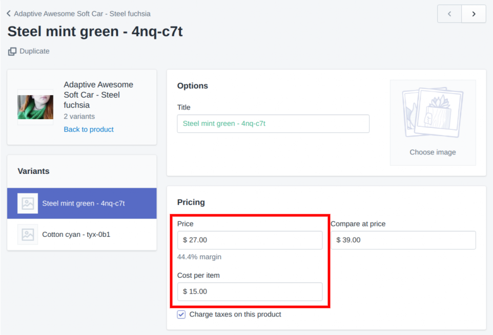 Product Cost Field Now Available in the Shopify Admin