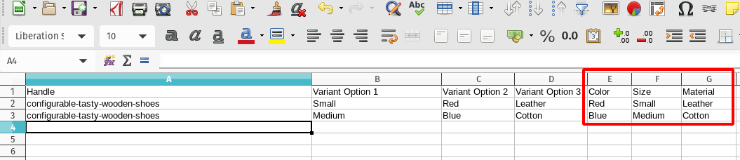 EZ Exporter - Export Shopify Product Variant OPtions