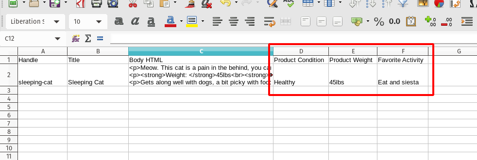 EZ Exporter - Extract product attributes from Shopify HTML descriptions to CSV