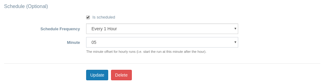 EZ Inventory for Shopify - Hourly Inventory Sync Scheduled with Minute Option